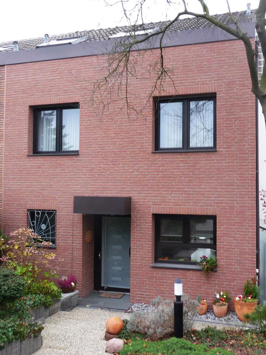 Fassade mit Klinkerstein Hugo Groll Malerbetrieb Bochum