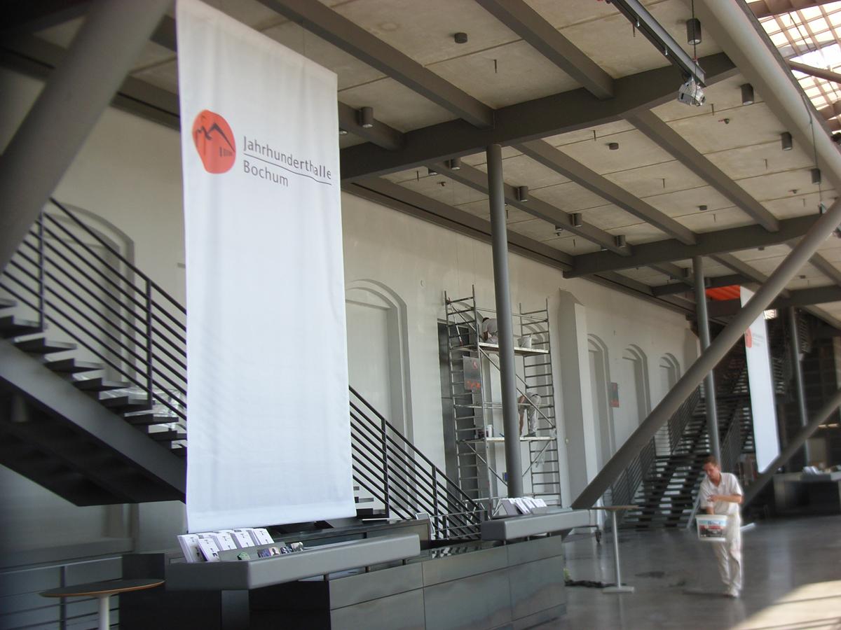 Malerarbeiten Jahunderthalle Bochum Hugo Groll Malerbetrieb Bochum