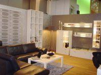 Grau gestrichenes Wohnzimmer Hugo Groll Malerbetrieb Bochum