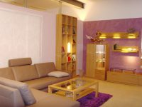 Rosa gestrichenes Wohnzimmer Hugo Groll Malerbetrieb Bochum