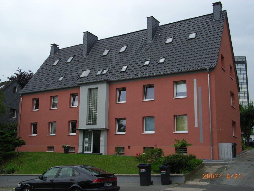 Häuserfassade Hugo Groll Malerbetrieb Bochum