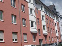 Rosa gestrichene Häuserfassade Hugo Groll Malerbetrieb Bochum