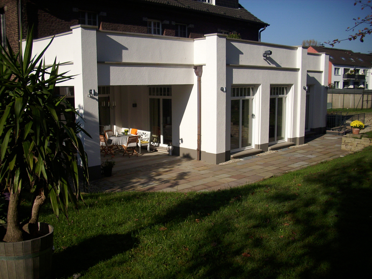 Fassade Anbau Hugo Groll Malerbetrieb Bochum