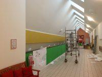 Malerarbeiten im Flur Hugo Groll Malerbetrieb Bochum