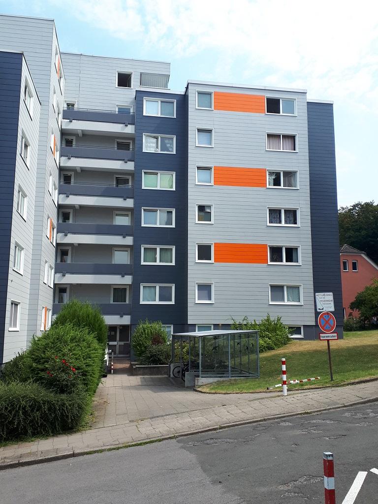 Gestrichene Fassade Hugo Groll Malerbetrieb Bochum